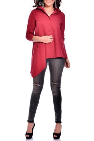 Рубашка VALERIA FRATTA. Цвет: красный