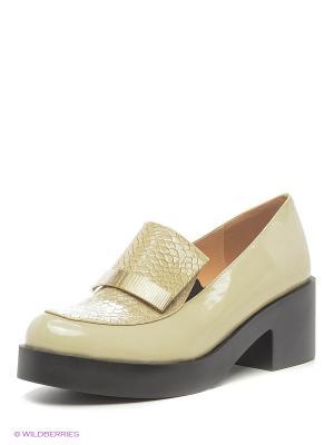 Туфли LINO MARANO. Цвет: оливковый