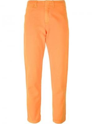 Джинсы-бойфренд Quin Polo Ralph Lauren. Цвет: жёлтый и оранжевый