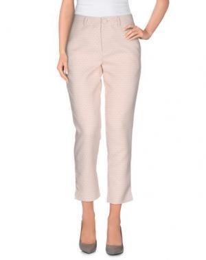 Повседневные брюки ANONYME DESIGNERS. Цвет: светло-розовый