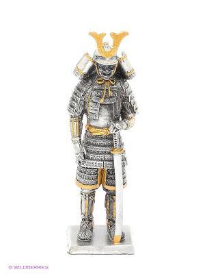 Статуэтка Сегун Асикага Такаудзи Veronese. Цвет: серебристый, желтый