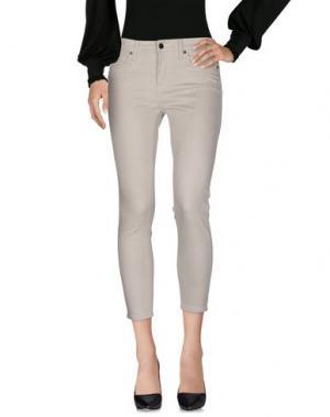 Повседневные брюки GENETIC DENIM. Цвет: слоновая кость