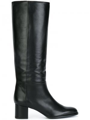 Сапоги по колено Veronique Branquinho. Цвет: чёрный