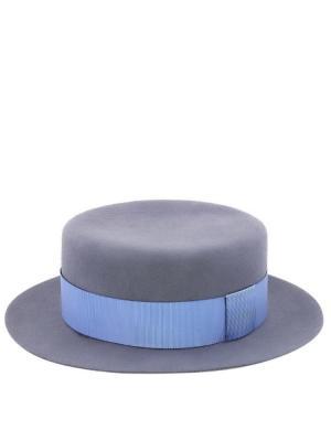 Шляпа TipTopHat. Цвет: светло-серый