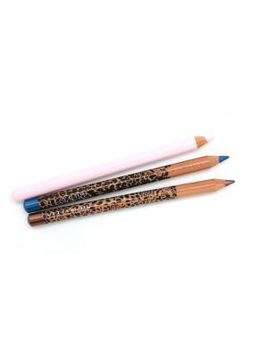 Подарочный набор YLLOZURE ИЛЛОЗУР. Цвет: коричневый, розовый, синий