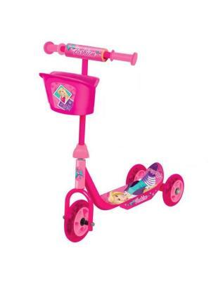 Самокат Fashion 3-колесный, пластик, колеса пвх, до 20 кг. Next. Цвет: розовый