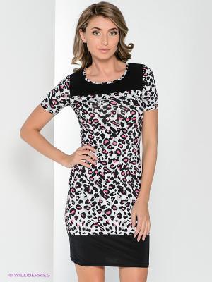 Платье Hammond. Цвет: белый, черный, розовый