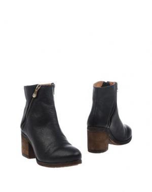 Полусапоги и высокие ботинки KANNA. Цвет: черный