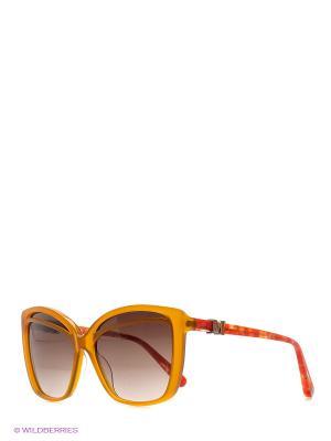 Очки солнцезащитные MM 578S 04 Missoni. Цвет: рыжий, красный