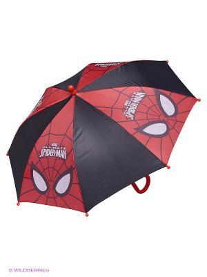 Зонт Spiderman. Цвет: черный