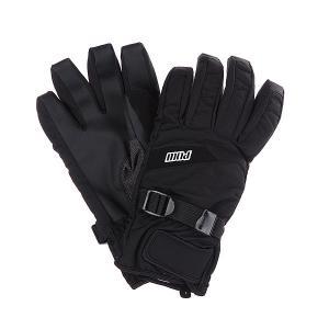 Перчатки сноубордические  Short Glove Black Pow. Цвет: черный