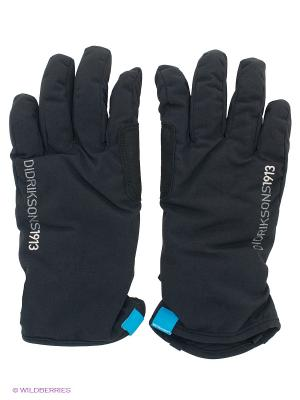 Перчатки DIDRIKSONS. Цвет: черный