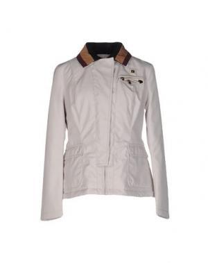 Куртка PIERO GUIDI. Цвет: слоновая кость