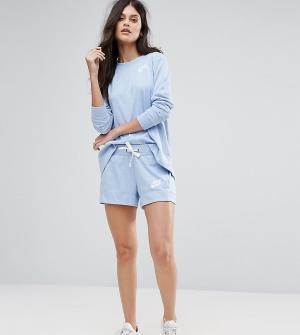 Nike Синие классические спортивные шорты эксклюзивно для ASOS. Цвет: мульти