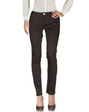 Повседневные брюки ARTIGLI. Цвет: темно-коричневый