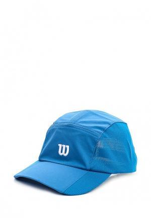 Бейсболка Wilson. Цвет: синий