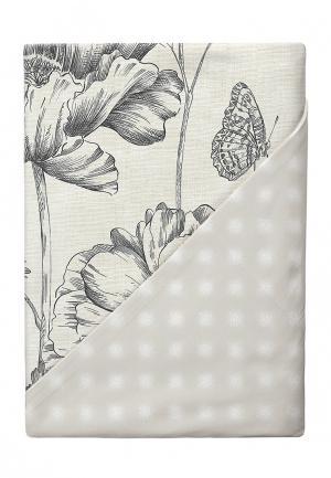 Комплект постельного белья 1,5-спальный Verossa. Цвет: бежевый