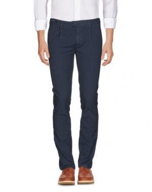 Повседневные брюки TELERIA ZED. Цвет: грифельно-синий