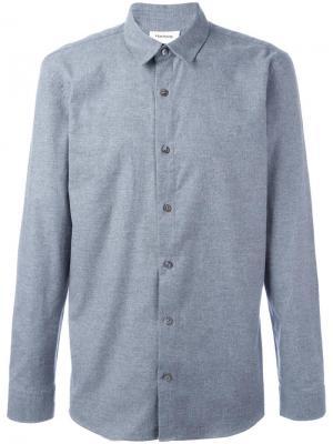 Классическая рубашка Harmony Paris. Цвет: серый