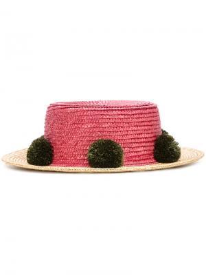 Шляпа Jupiter  for 711 Eshvi. Цвет: розовый и фиолетовый