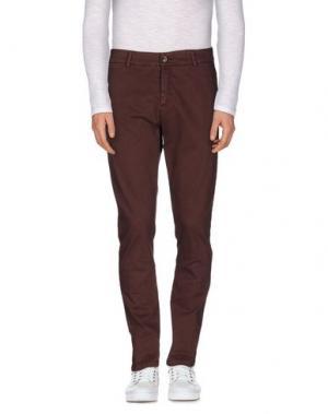 Повседневные брюки ONE SEVEN TWO. Цвет: какао