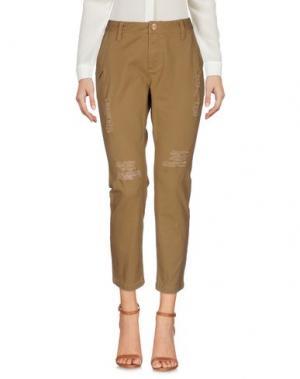 Повседневные брюки PUBLISH. Цвет: бежевый