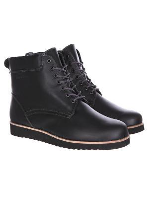Ботинки зимние  Rheinberger Teana Black. Цвет: черный