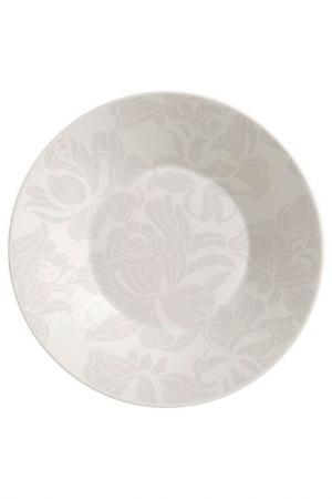 Тарелка суповая 22 см Biona. Цвет: белый