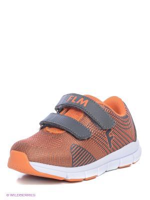 Ботинки Flamingo. Цвет: оранжевый