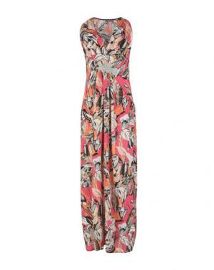 Длинное платье DIXIE. Цвет: пурпурный