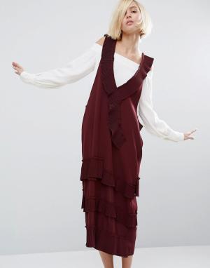 Style Mafia Платье Briel. Цвет: фиолетовый