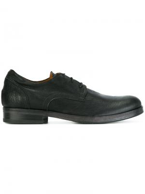 Ботинки-дерби Gummo Fiorentini +  Baker. Цвет: чёрный