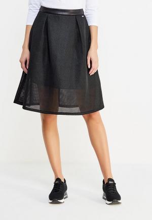 Юбка Armani Exchange. Цвет: черный