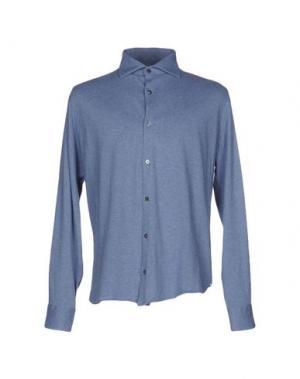 Pубашка DANOLIS. Цвет: грифельно-синий