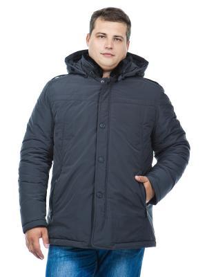 Куртка Clasna. Цвет: темно-серый
