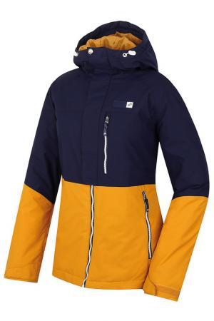 Куртка HANNAH. Цвет: navy and yellow
