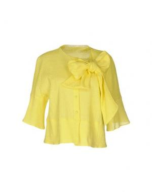 Pубашка LAVINIATURRA. Цвет: желтый