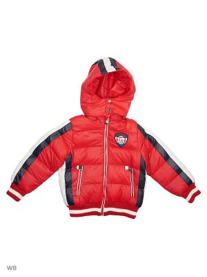 Куртка Cherche. Цвет: красный