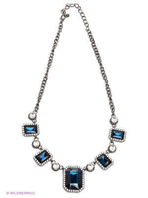 Колье Lovely Jewelry. Цвет: серебристый, синий