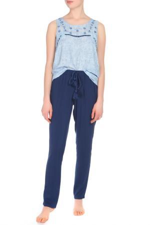 Комплект с брюками Relax Mode. Цвет: синий