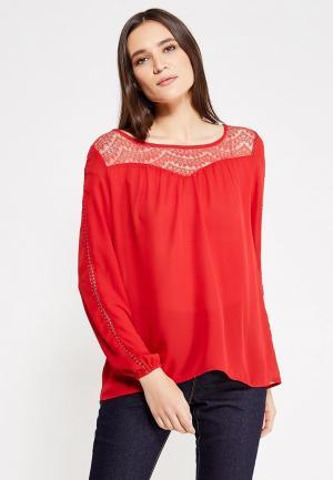 Блуза By Swan. Цвет: красный
