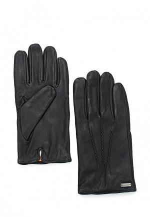 Перчатки Boss Orange. Цвет: черный
