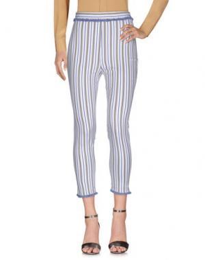 Повседневные брюки MEM.JS. Цвет: белый