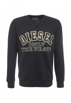 Свитшот Diesel. Цвет: синий