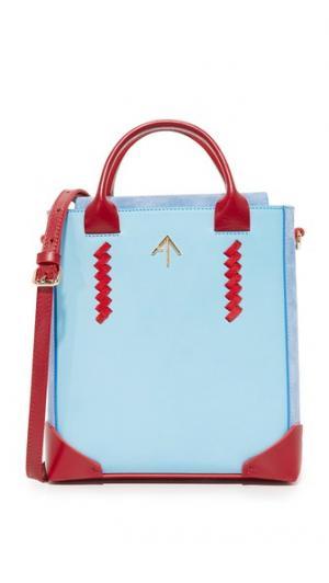 Стандартная объемная сумка Pristine с короткими ручками MANU Atelier