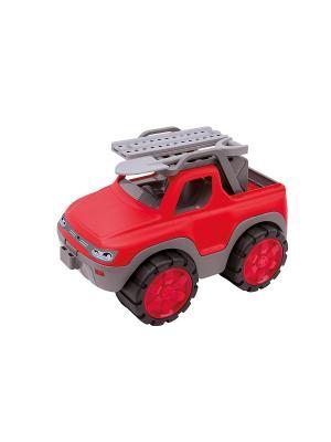 Машинка пикап  Big Power Worker, 33x20x21см, 1/4. Цвет: серый, красный