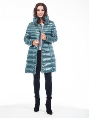 Пальто Malinardi. Цвет: светло-зеленый