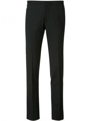 Строгие брюки кроя слим Giambattista Valli. Цвет: чёрный