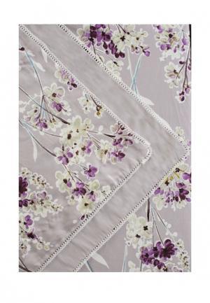 Комплект постельного белья Евро Bellehome. Цвет: серый