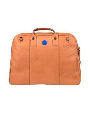 Деловые сумки GABS. Цвет: коричневый